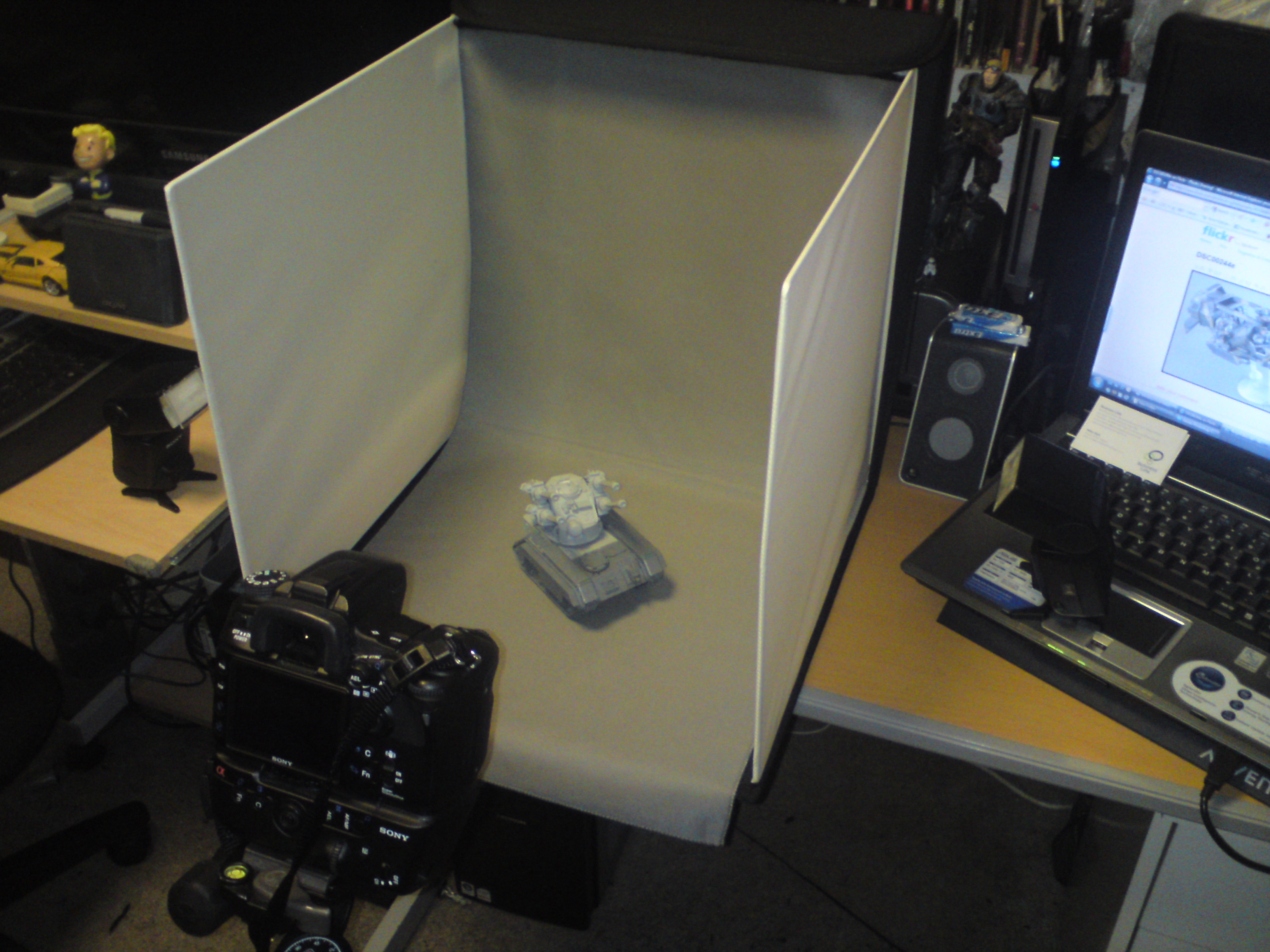A Tutorial On Photographing Miniatures