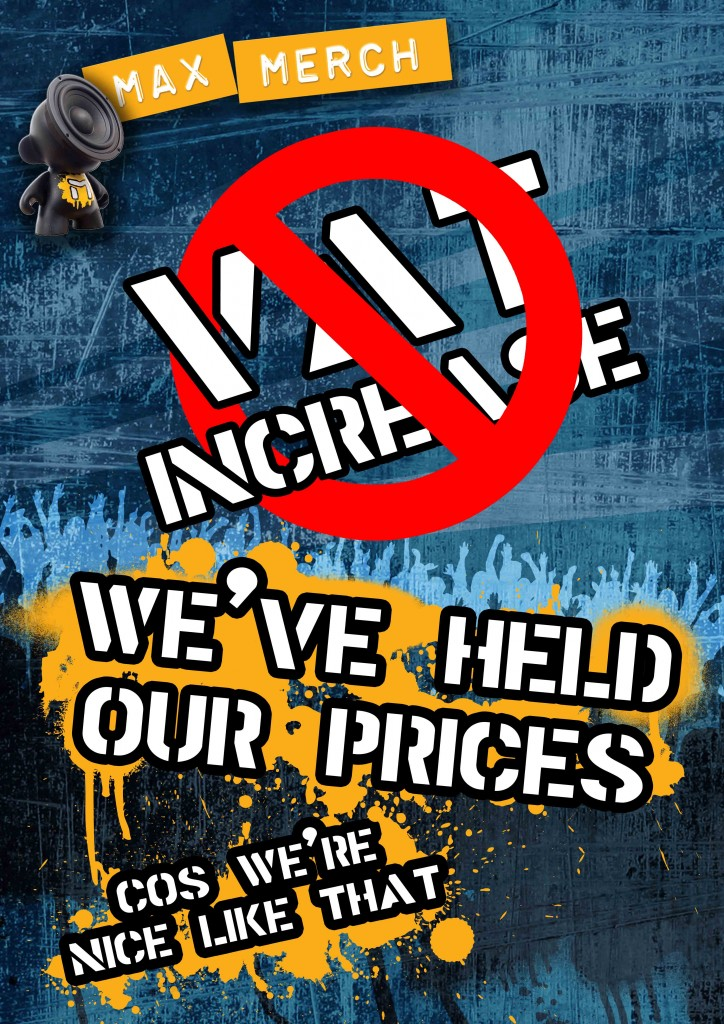 No VAT increase poster