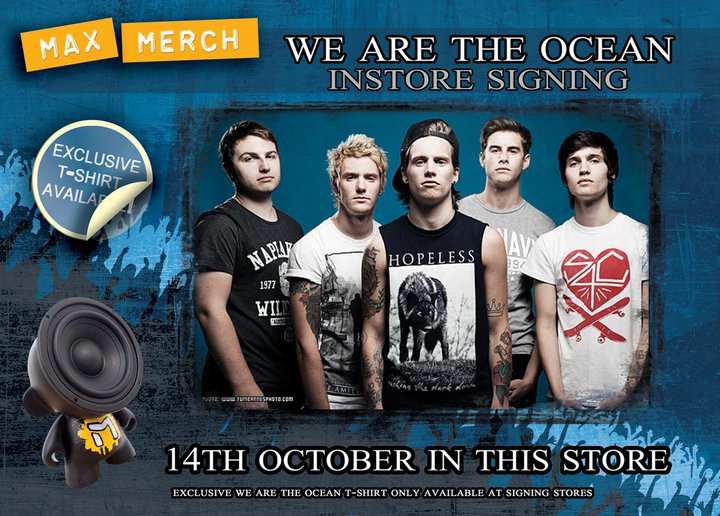 we are the ocean poster
