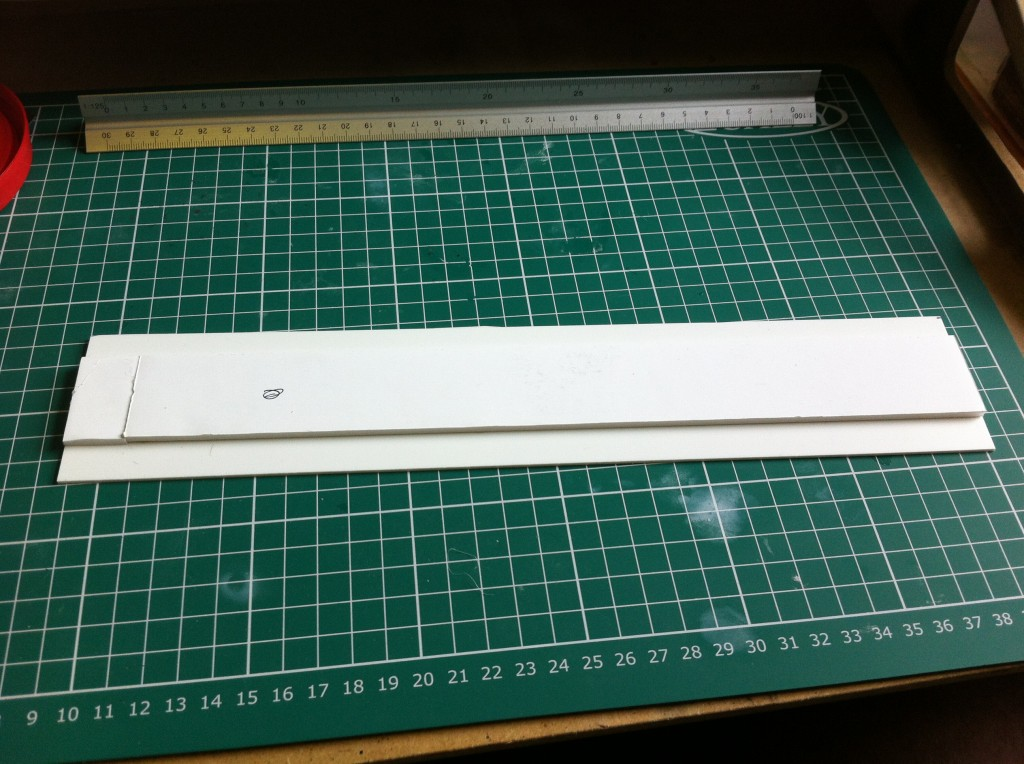 foam core on styrene