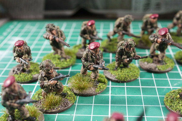 Bolt action British Paras infantry