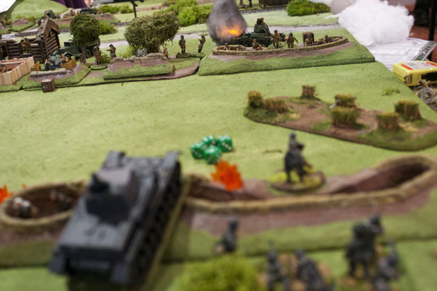 Panzer fires on the far T26