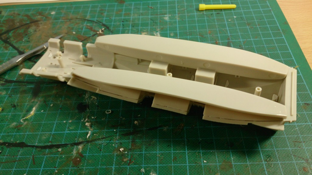 Hull assembly stage 1