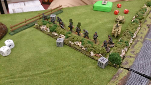 heavily pinned germans