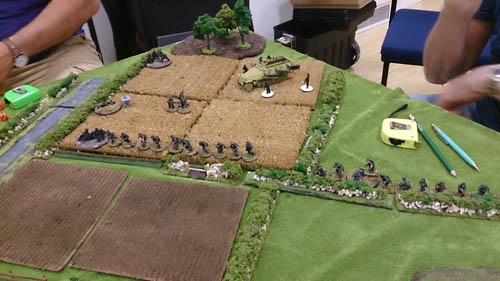 Germans in turn 2