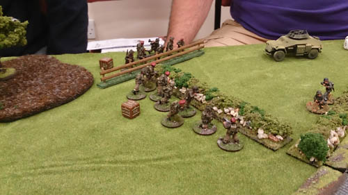 The Paras make their move