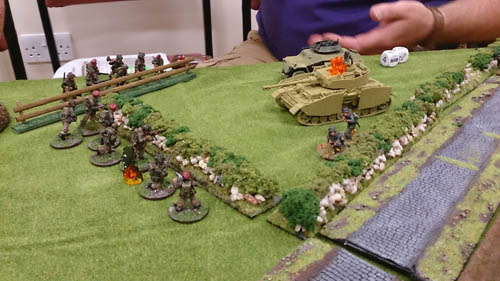 Panzer iiv pinned