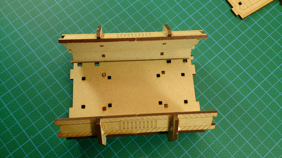 Portable Utility Pod - top view stage 2