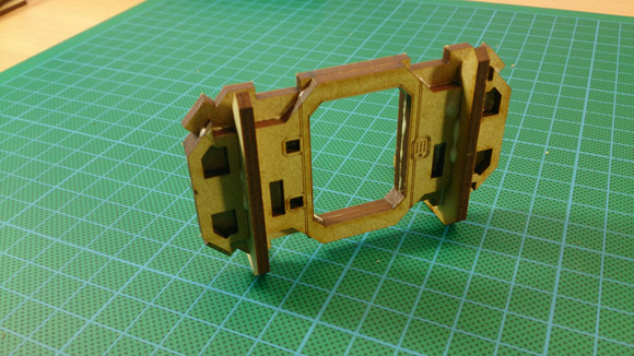 Portable Utility Pod - front door assembly