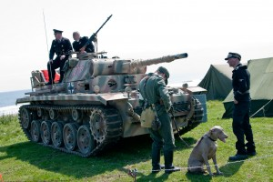 Blyth Battery 2012 Panzer III and crew