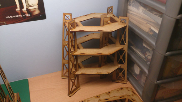 Judge Dredd Terrain - 3 storey tower