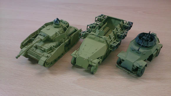 Bolt action german vehicles
