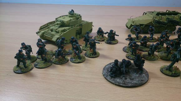 Bolt action Germans