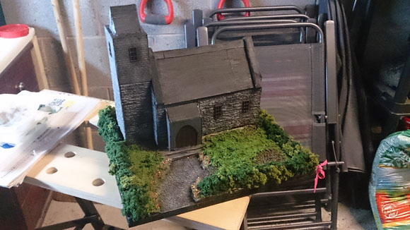 Scratch Built 28mm church - finished