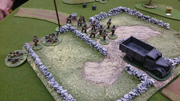 Bolt action AAR - germans advancing