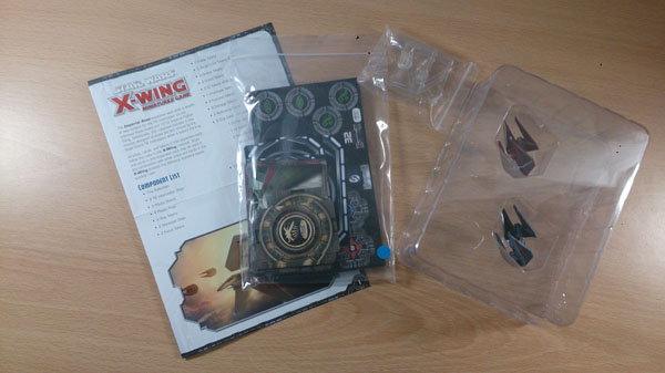 X-Wing Imperial Aces - Box Contents