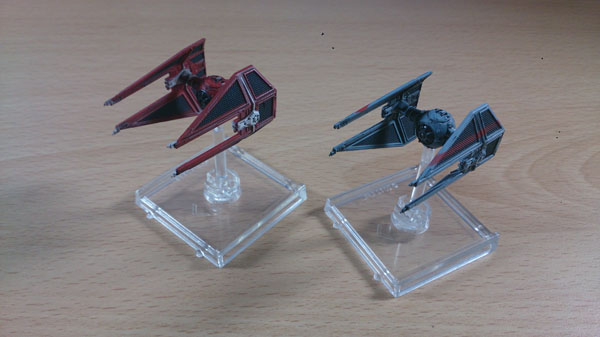 X-Wing Imperial Aces - TIE interceptors