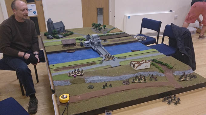 Bolt Action AAR - The board set up