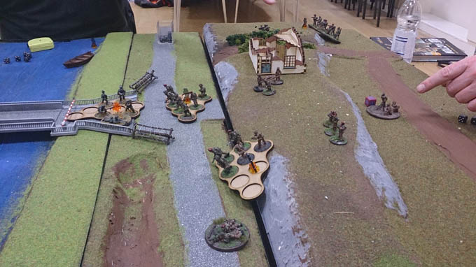 Bolt Action AAR - Paras advancing