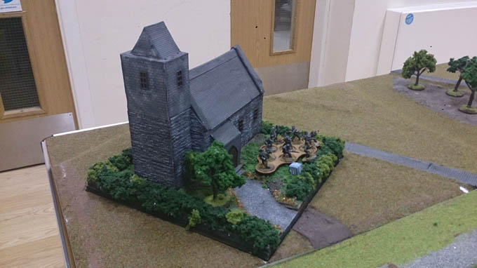 Bolt Action AAR - Germans in the Churchyard