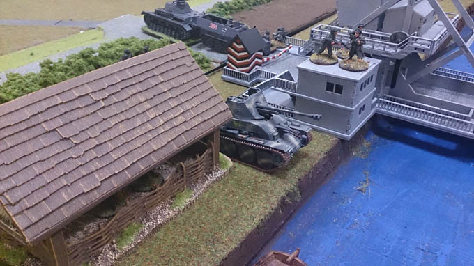 Bolt Action AAR - Marder III firing over the river