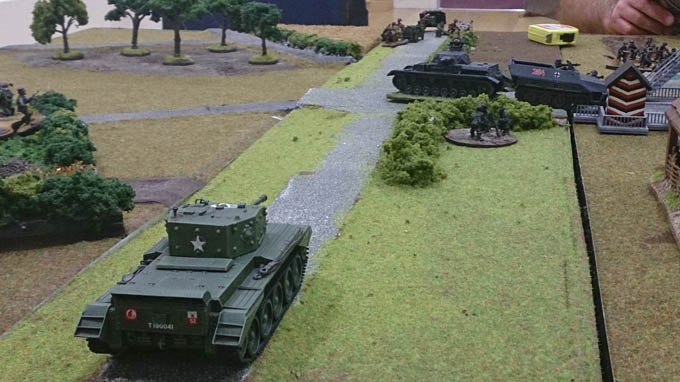 Bolt Action AAR - Cromwell arrives