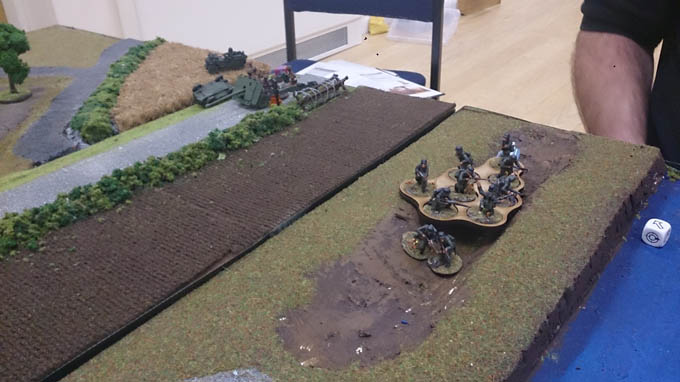 Bolt Action AAR - Germans flanking the 17pdr