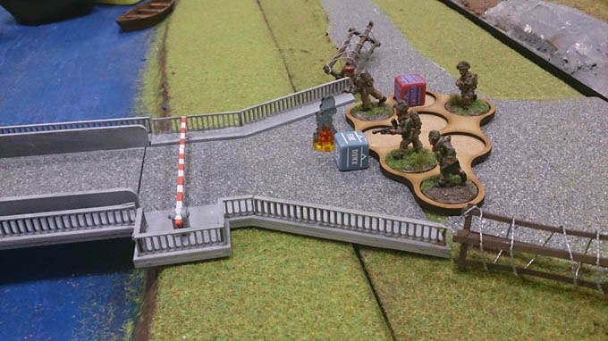 Bolt Action AAR - Paras taking the bridge