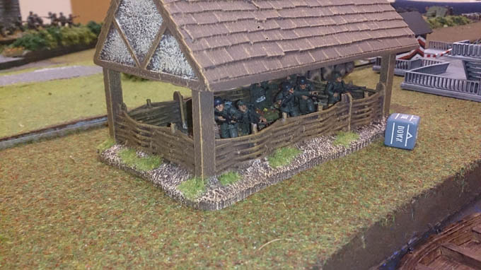 Bolt Action AAR - Volksgrenadiers in the barn