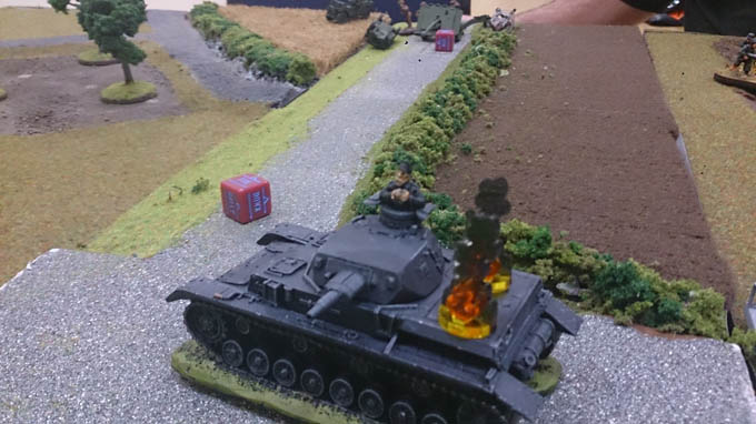 Bolt Action AAR  - PAnzer IV pinned