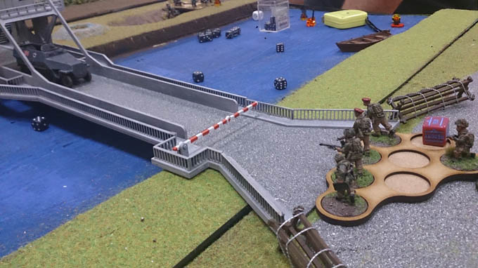 Bolt Action AAR  - Paras on the bridge