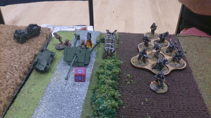 Bolt Action AAR  - those bloody flankers!
