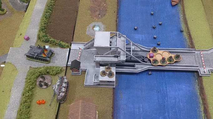 Bolt Action AAR  - assualting the bridge