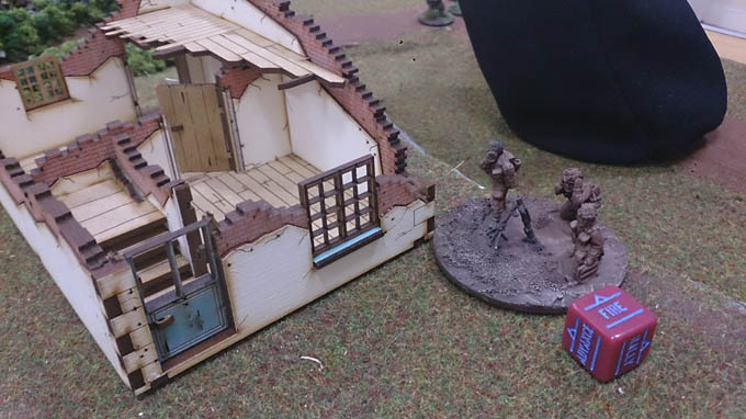 Bolt Action AAR - mortar
