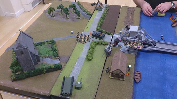 Bolt Action AAR - advancing germans