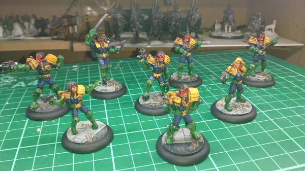 Judge Dredd Justice Department gang all finished