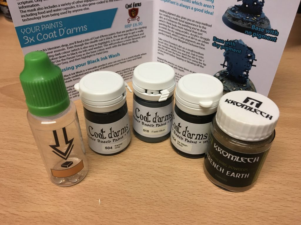 Asset Drop April Box - All Paints