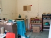 The resin casting room