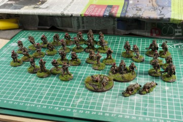 Bolt action British Paras