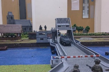 Bolt Action AAR -Halftrack on the bridge