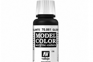 Vallejo Model Color - Black - 70.861