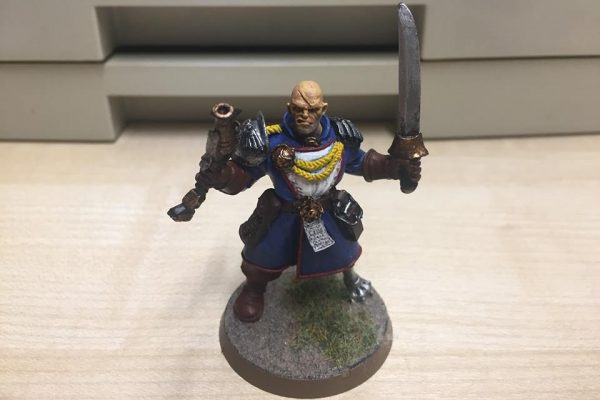 Inquisitor 54mm Bodyguard Boatswain Bosun